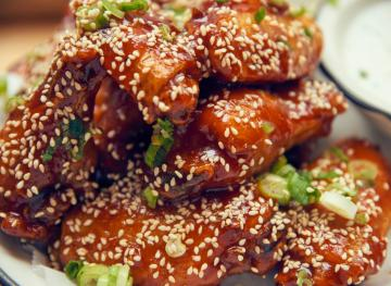 Korean BBQ Wings With Buttermilk Dill Is An Awesome Twist On A Classic