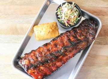 These Apricot Glazed Baby Back Ribs Are Delicious