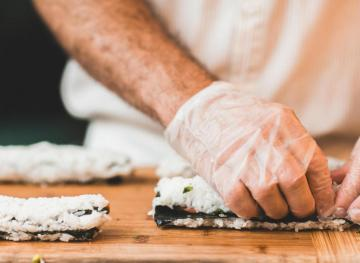 Here's How To Make Sushi At Home