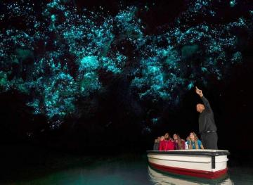 This Hidden Glow-In-The-Dark Cave Is Breathtaking