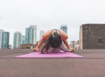 5 At-Work Yoga Poses That Will Keep You Calm And Focused