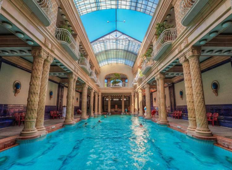 most beautiful bath houses
