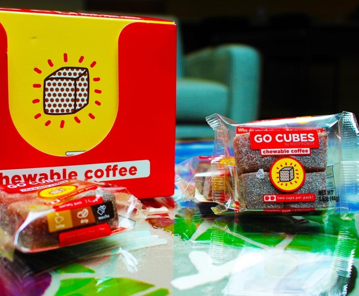 Go Cubes Chewable Coffee Is Available For Purchase
