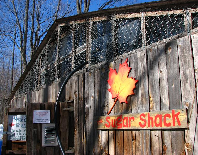 what is a sugar shack