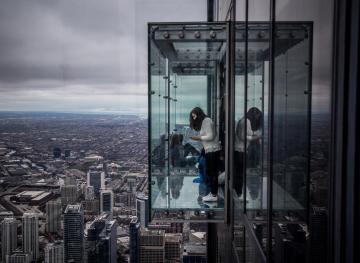 These Glass Floors Give You The Craziest Sky-High Views
