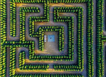 Here Are The Most Intricately Gorgeous Mazes In The World