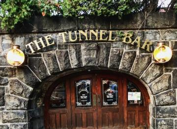 This Cozy Massachusetts Bar Is Tucked Into A Vintage Train Tunnel