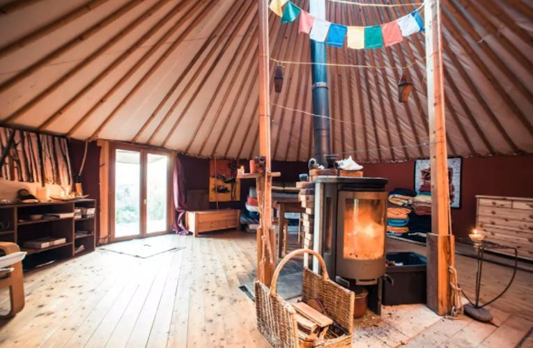 French Yurt Airbnb Is Glamping Ready