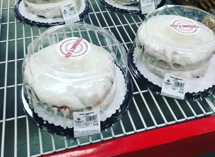 Sams Club Cinnabon Cake