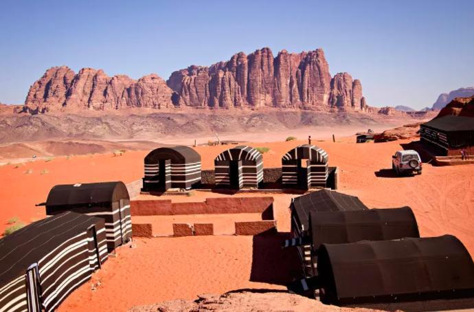 & Bedouin Tent Airbnb In Wadi Rum Jordan