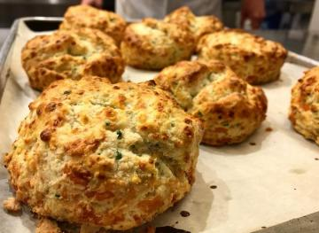 How To Make The Fluffiest Cheddar Chive Biscuits For Breakfast
