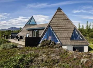 This Geometric Airbnb Gets You Way Into The Icelandic Wilderness