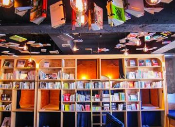 This Reader-Friendly Hostel In Japan Is Basically One Big Book Nook