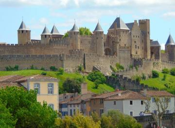 The Walled City Of Carcassonne Is Basically A Medieval French Fairytale