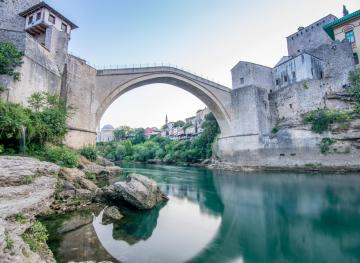 Mostar's Gorgeous Medieval Bridge Is Also An Insane Cliff-Diving Spot
