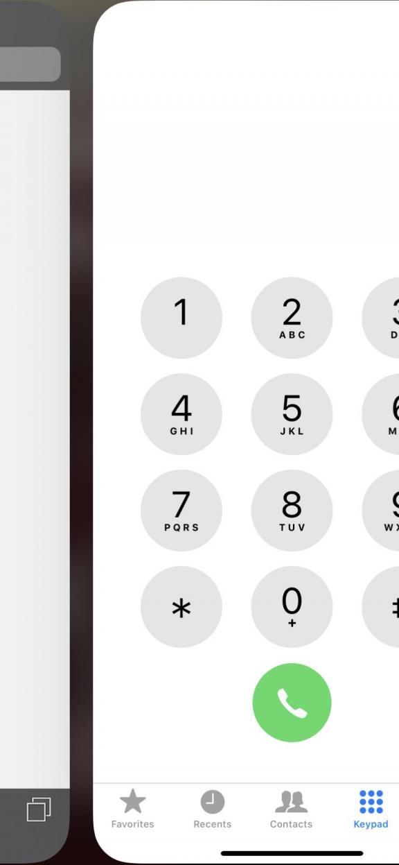 iphone hacks sliding between apps