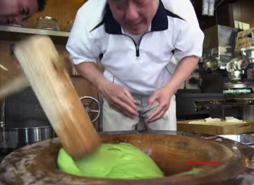 Watch This Man Practically Risk Life And Limb To Make The Perfect Mochi