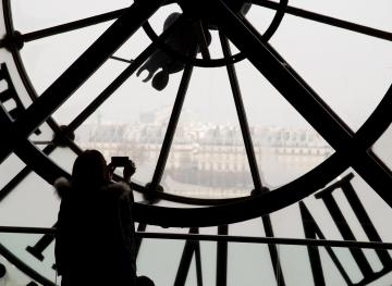 After Browsing The Masterpieces, Be Your Own Work Of Art At The Musée D'Orsay Clock