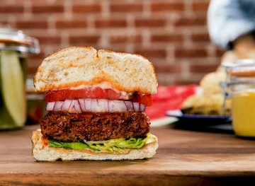 This Plant-Based Burger Has More Protein Than Your Average Patty