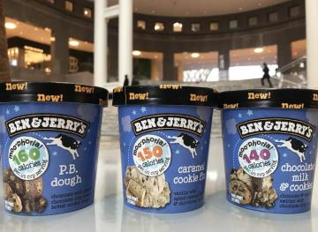 Ben & Jerry's Launches A New Line Of Creamy Low-Calorie Ice Cream