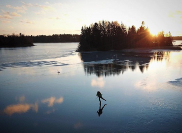 Wild Ice Skating Is The Craziest Winter Sport You've Never Heard Of