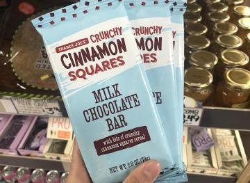 Cinnamon Toast Crunch Fans, Trader Joe's Has A New Chocolate Bar For You