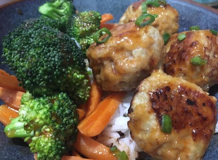 ginger meatball stir fry recipe