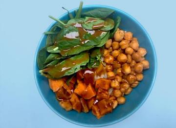 Meal Prepology: How To Make Four Dishes From Sweet Potatoes, Spinach And Chickpeas