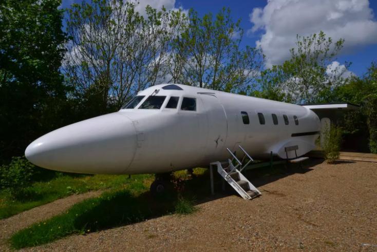 private plane airbnb