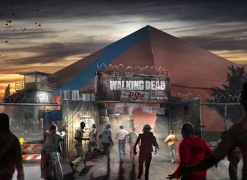The New 'Walking Dead' Roller Coaster Can Charge Cell Phones With Your Screams