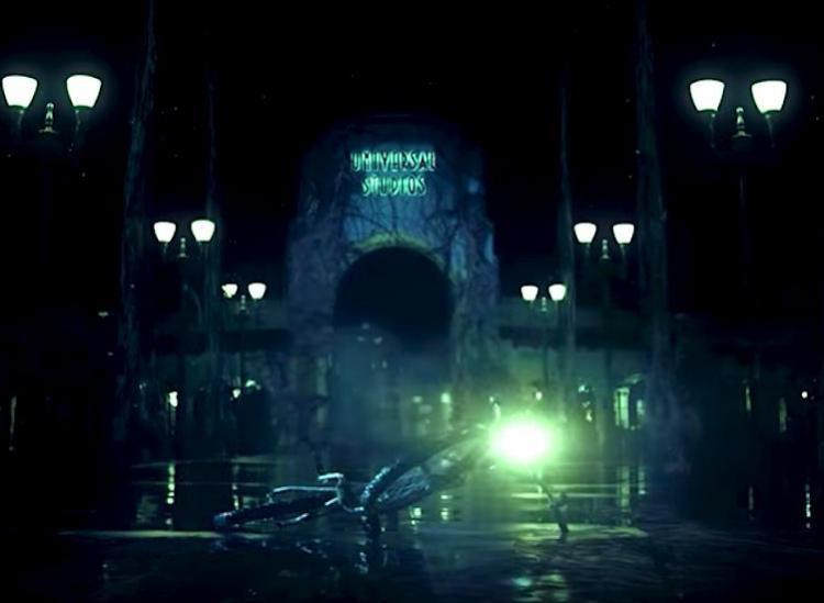 stranger things theme park