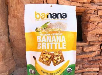 Banana Brittle Is The Healthy And Crunchy Snack You Need In Your Life
