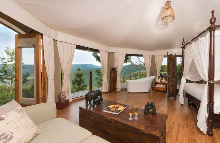 australian yurt airbnb