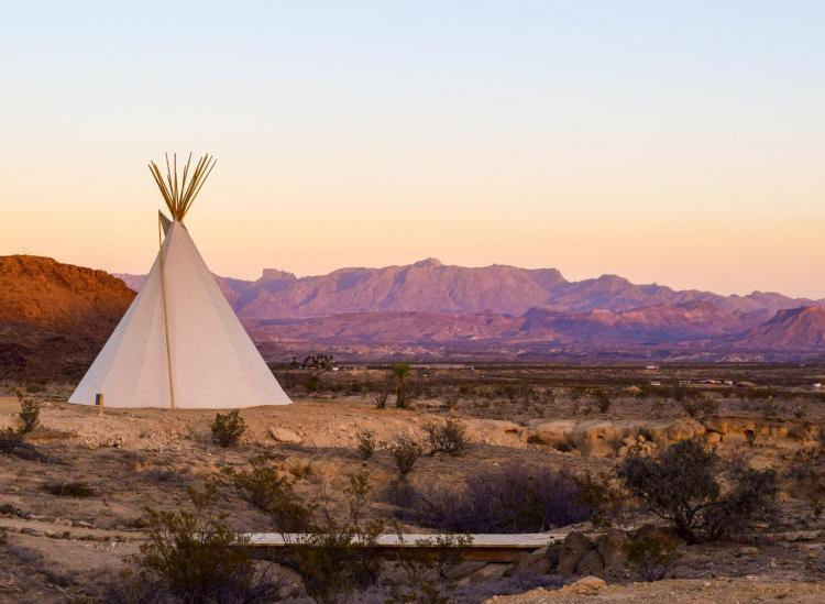 where to go glamping