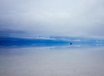 The Bolivian Salt Flats Are The Prettiest Natural Optical Illusion Around