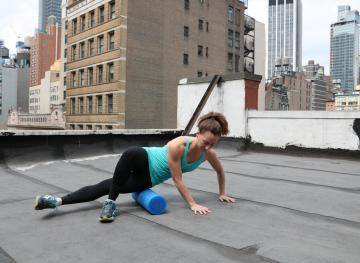 6 Foam Rolling Moves That'll Soothe All Those Sore Muscles