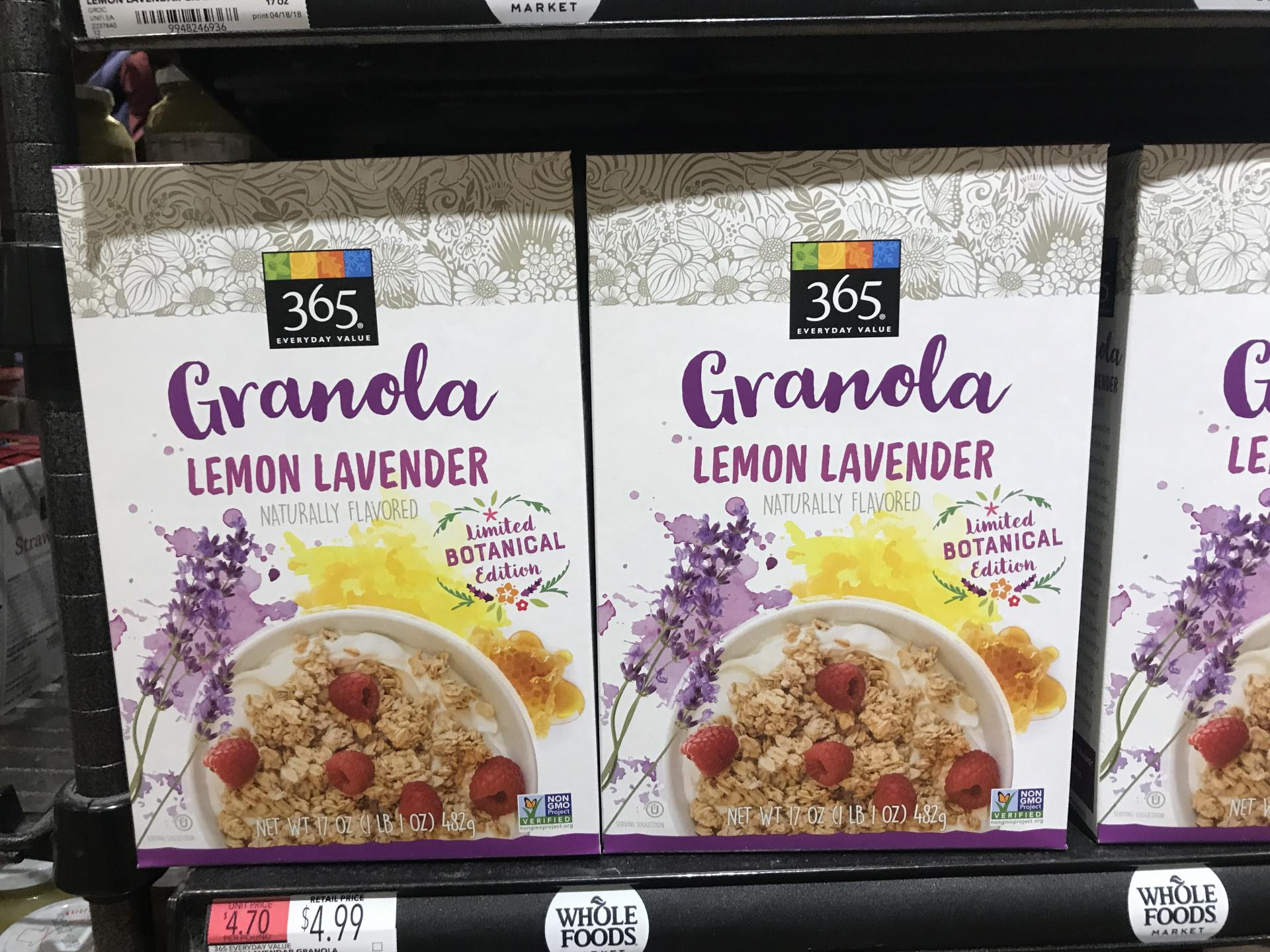 Whole Foods Lavender Food Trend