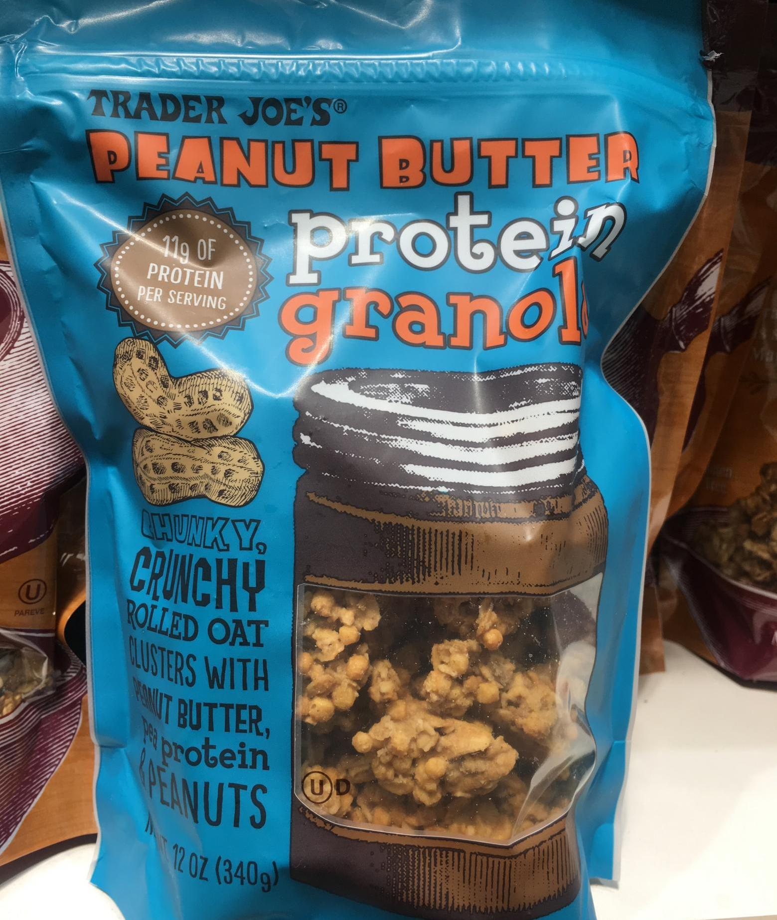 Trader Joe's protein snacks