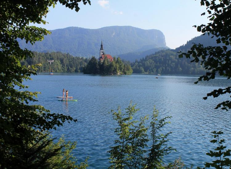 Lake Bled, Slovenia Is A Waterfront Paradise Hidden In The Alps