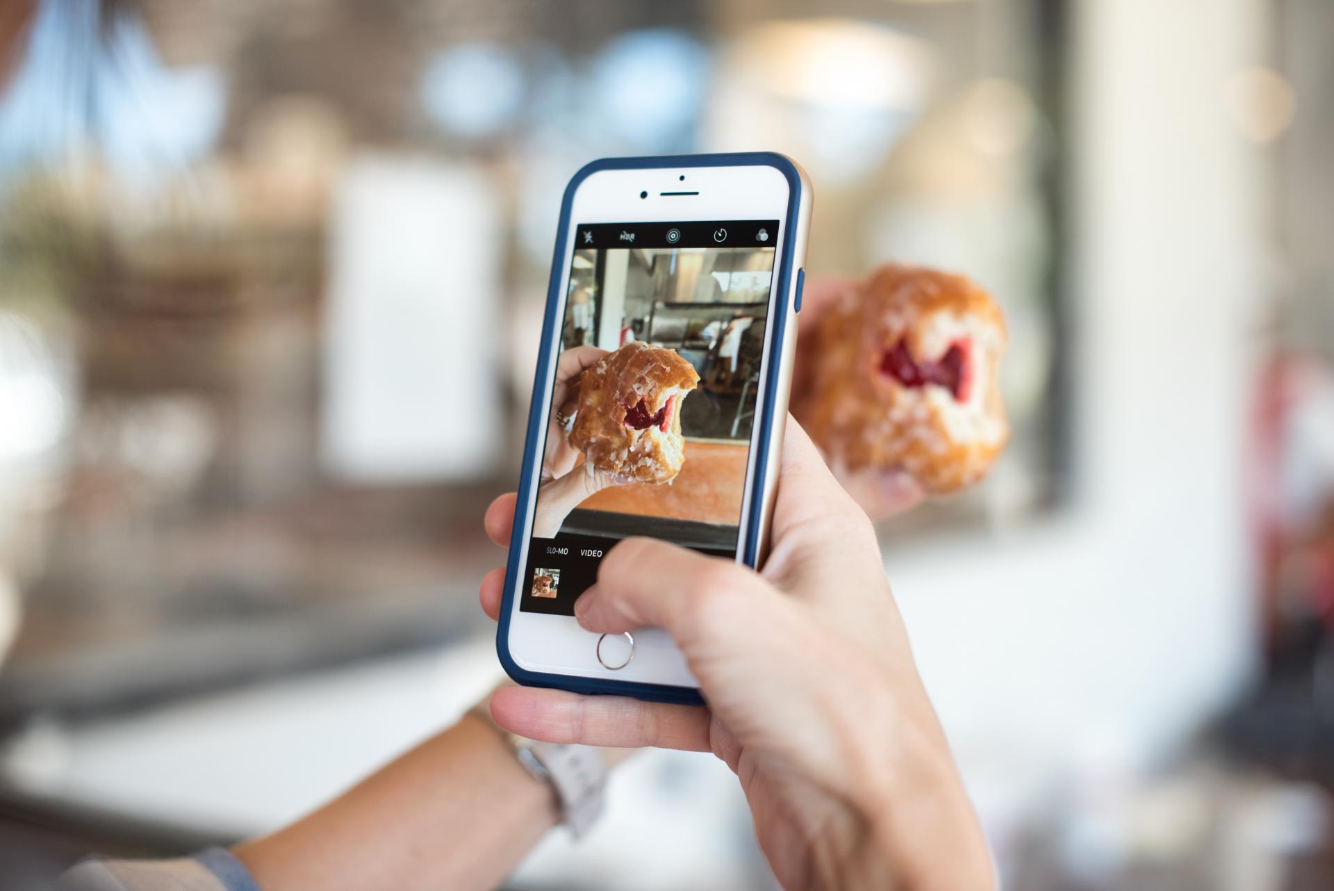 Instagram restaurant reservations
