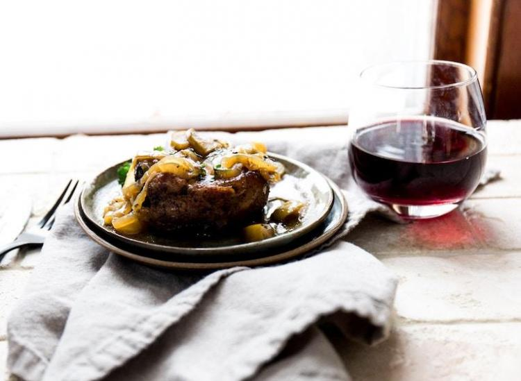 how to cook with red wine