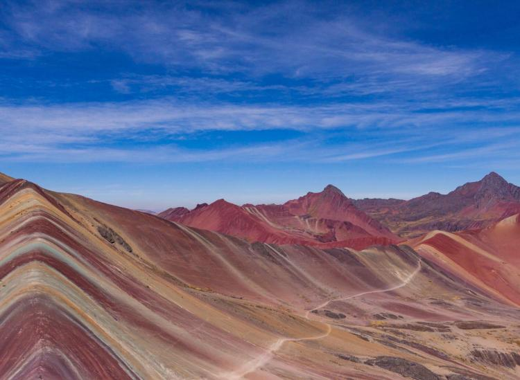 where to see rainbow mountains