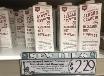 This Trader Joe's Nut Milk Is The Best Of Three Worlds