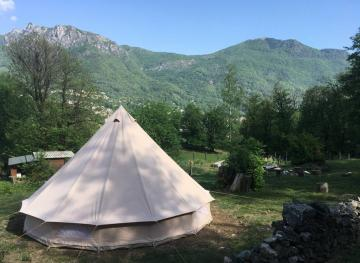 This Tipi Airbnb Located In The Mountains Of Southern Switzerland Is Your Ultimate Romantic Getaway