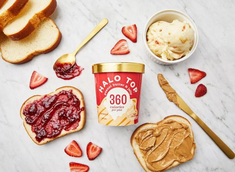 Halo Top Peanut Butter And jelly