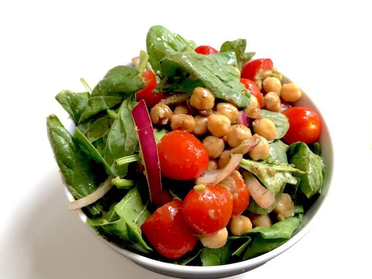 balsamic chickpea and cherry tomato salad recipe