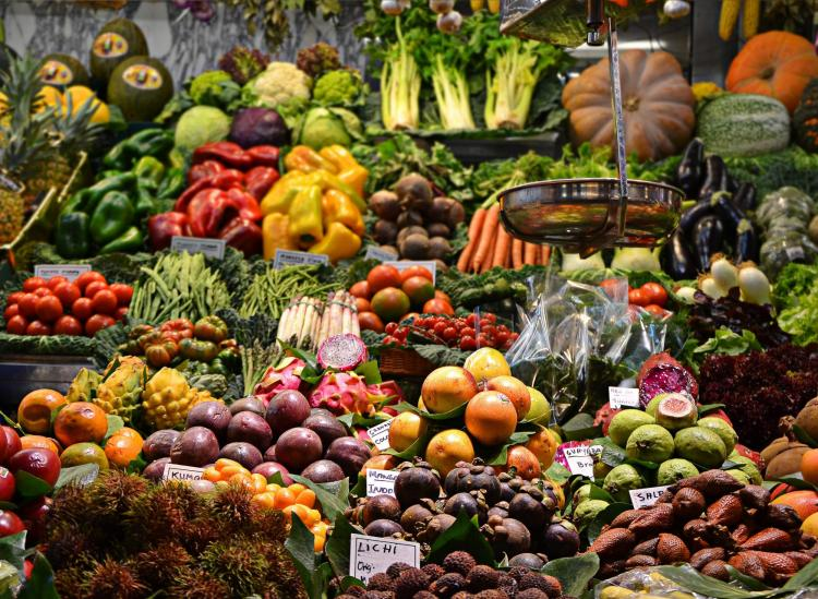 fruits and vegetables nutrients
