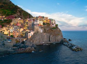 In Italy's Cinque Terre, You Can Swim In The Mediterranean And Eat Endless Seafood Pasta