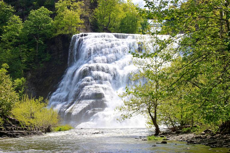 ithaca new york waterfalls