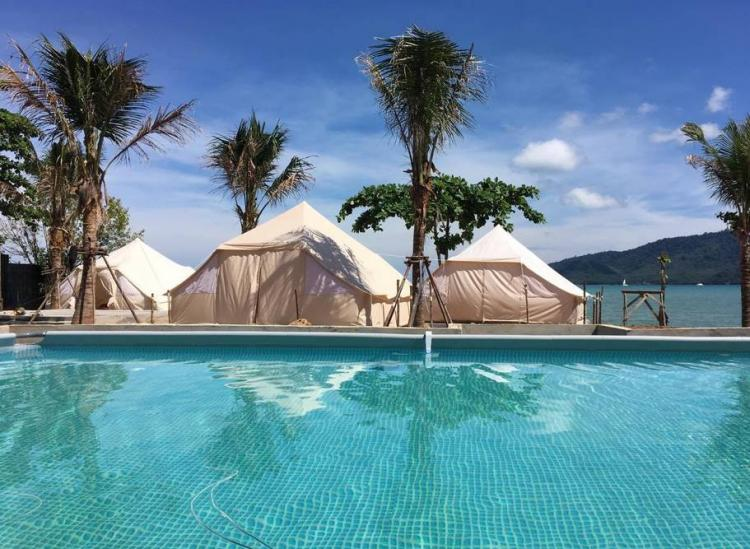 Thailand private beach airbnb